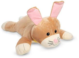 Melissa & Doug Melissa Doug Cuddle Bunny Jumbo Plush Stuffed Animal with Activity Card