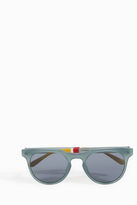 Orlebar Brown Teal Silver Sunglasses
