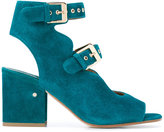 Laurence Dacade Noe cut-out boots - women - Leather/Suede - 35.5