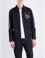 Evisu Skull-print denim jacket