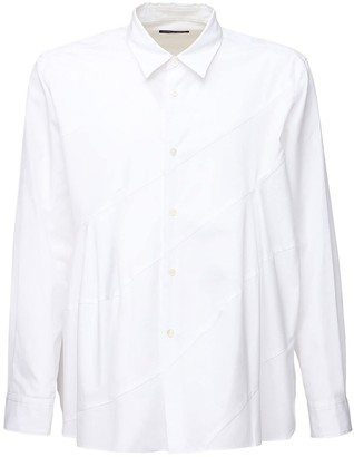 Comme des Garcons Layered Cotton Poplin Shirt