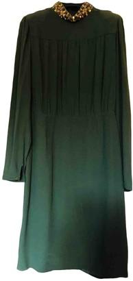Au Jour Le Jour Green Glitter Dress for Women