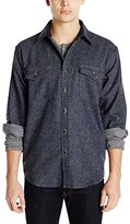 Pendleton Men's Classic-Fit Cascade Denim Shirt, Navy