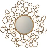 Uttermost 32.5-Inch Finnian Mirror in Gold