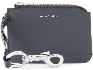 Acne Studios Keychain logo pouch