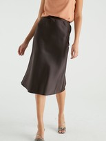Warehouse Bias Cut Midi Skirt