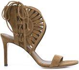 Tory Burch laser cut detail sandals