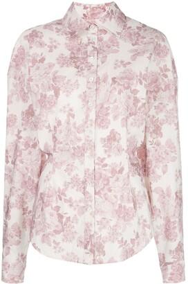 Magda Butrym Lozanna floral print shirt
