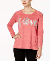 Style&Co. Style & Co Embellished Graphic Sweatshirt, Created for Macy's