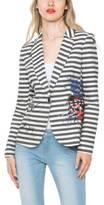 Desigual Striped Blazer