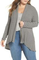 Bobeau High/Low Cardigan