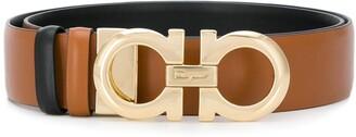 Salvatore Ferragamo Double Gancio reversable belt