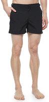 Orelebar Brown Setter Short-Length Swim Trunks, Black