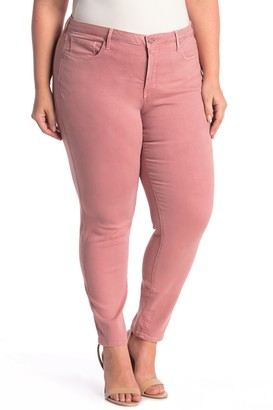 NYDJ Ami Solid Skinny Jeans (Plus Size)