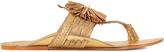 Figue Twiggy pompom leather sandals