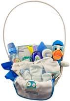 Bassket.com Medium Newborn Boy Gift Basket