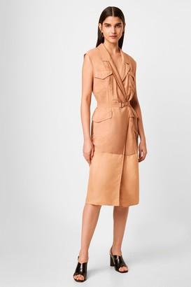 French Connenction Brekhna Safari Sleevless Dress