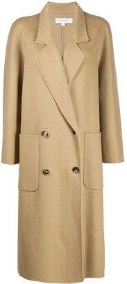 MICHAEL Michael Kors Oversized Double-Breasted Coat