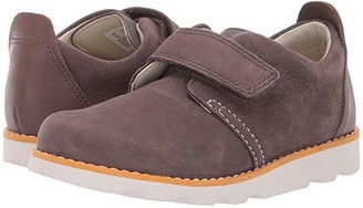 Clarks Crown Park (Toddler) (Brown Leather) Boy's Shoes