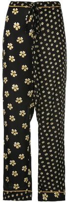 Oscar de la Renta Blossom trousers