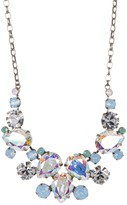 Sorrelli Crystal Nested Pear Statement Necklace