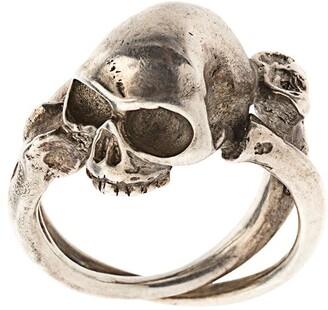 Werkstatt:Munchen Cross Bones + Skull ring