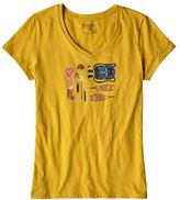 Patagonia Women's Kitted Cotton V-Neck T-Shirt