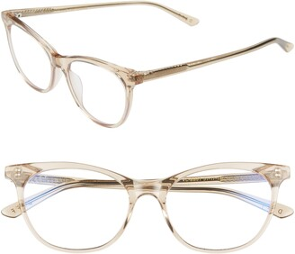 DIFF Jade 51mm Blue Light Blocking Cat Eye Glasses