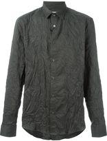 Kenzo wrinkled effect shirt