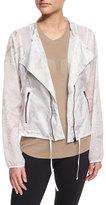 Alo Yoga Sunset Nylon Jacket W/Mesh Inset, Highlighter