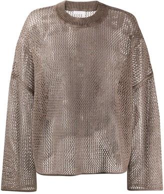 See by Chloe Breezy open knit jumper