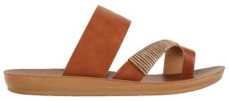 Sandler Gidget Tan Smooth Sandals