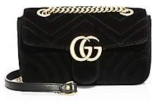 Gucci Women's Mini GG Marmont Velvet Bag
