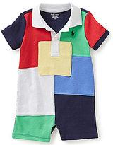 Ralph Lauren Baby Boys 3-24 Months Patchwork Shortall
