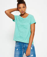 Superdry Osaka Embossed Bright Boyfriend T-shirt