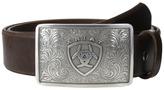 Ariat Rectangle Filagree Shield Buckle Belt
