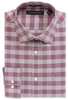 Tommy Hilfiger Slim-Fit Check Print Dress Shirt