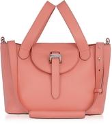 Meli-Melo Persimonio Pink Thela Mini Cross Body Bag