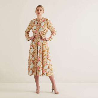 Seed Heritage Scarf Print Dress