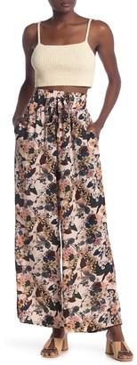 NSR High Waist Floral Print Pants