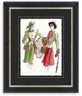 STUDY Fashion Framed Art 2