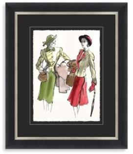 STUDY Fashion Framed Art 2