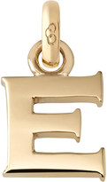 Links of London E 18ct yellow gold charm