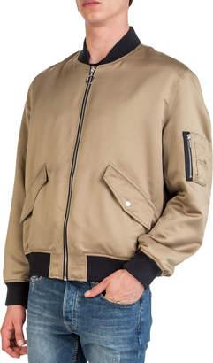 The Kooples Men's Satin Varsity Jacket