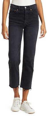 RE/DONE High-Rise Stovepipe Comfort Stretch