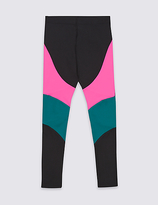Marks and Spencer Colour Block Leggings (5-14 Years)