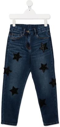 MonnaLisa Star-Patch Jeans