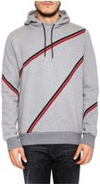 Christian Dior Hoodie With Striped Inserts