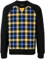 Joseph checked print sweatshirt