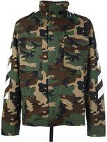 Off-White camouflage print utility jacket